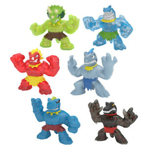 New! S3 HEROES OF GOO JIT ZU HERO PACK Dino Power Series 3 character figure