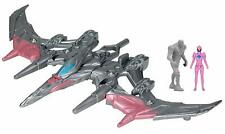 Power Rangers Movie Pterodactyl Battle Zord with Pink Ranger Figure (Brand New)