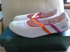 NIB $229 LACOSTE Sport Kenja White/Pink Flats  EU40 8-8.5-9