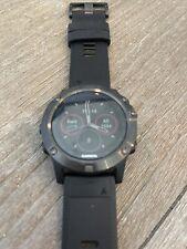 Garmin Fenix 5x 51mm Slate Gray Sapphire with Black Band GPS Watch - (010-01733-