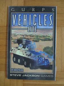 Gurps Vehicles Lite– Englsih - Steve Jackson Games Roleplaying