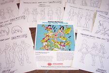 New ListingPartridge Family 2200 Animators Model Sheets Hanna Barbera Art Reference Guide