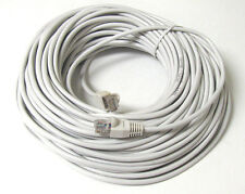 25FT 25 ft RJ45 CAT5 CAT5E ETHERNET LAN NETWORK white CABLE