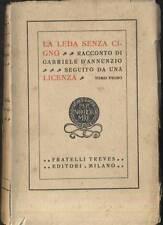 LA LEDA SENZA CIGNO di Gabriele D'Annunzio Volume I - Treves II edizione 1927