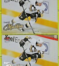 "( Lot of 2)  EVGENI MALKIN  2008-09  "" FLEER ULTRA BASE ""    #77     Penguins"