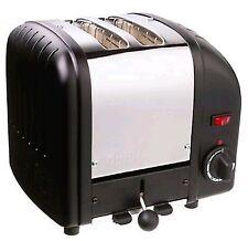 Dualit 20237 Vario 2 Slice Toaster Polished Black
