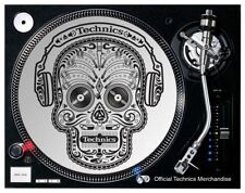 DMC Technics Skull Slipmats (1 x pair) OFFICIAL MERCHANDISE