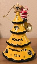2010 Danbury Mint -  Iowa Hawkeyes Christmas Tree Ornament