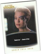 """The """"Quotable"""" Star Trek Voyager P4 Promo Card - SDCC 2012 San Diego"""