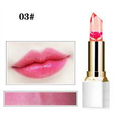 Woman Flower Jelly Gloss Lipstick Moisturizing Temperature Color Change Lip Balm 3#