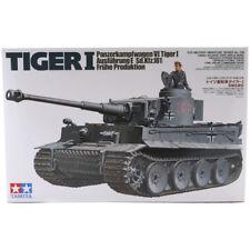 Tamiya Tiger I modelo de producción temprana Set (escala 1:35) 35216 Nuevo