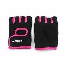 1 Pair Rose S Body Building Training Fitness Gloves Workout Exercise Crossfit