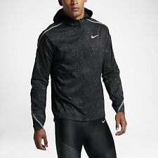Nike Shield Impossibly Light Rostarr Men's Running Jacket SZ L Black 808648 010
