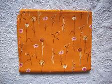 RARE OOP Heather Ross Lightning Bugs ORANGE DANDELIONS *VHTF, New & Unused*