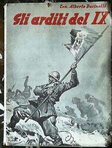 """""""Gli Arditi del IX"""" reparto d'assalto arditi Alberto Businelli Piave Libro ww1"""
