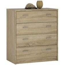 4 You Modern Sonoma Oak Bedroom Furniture 4 Drawer Chest Of Drawers Unit