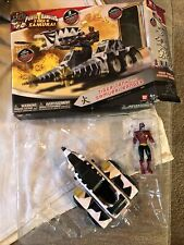 POWER RANGERS SUPER SAMURAI TIGER TANK W/ SAMURAI RANGER BANDAI ACTION FIGURE