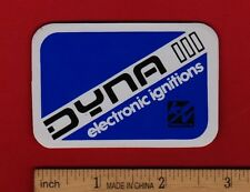 DYNA III ELECTRONIC IGNITIONS Vintage STICKER Decal Honda Suzuki Yamaha Kawasaki