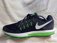Nike Air Zoom Volmero 10 Hombres Zapatillas Negro/Gris/Verde Uk 10 EU 45