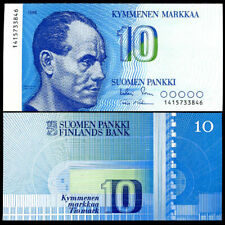 Finland 10 Markkaa 1986 P 113 UNC NR