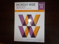 Wordly Wise 3000 3rd Edition Book 12 Systematic Academic Vocabulary Development