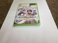 Record of Agarest War Zero (Microsoft Xbox 360, 2011) new