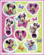Minnie Mouse Bow-Tique Stickers - Sealed Pack/4 Sheets -Favours - Birthday