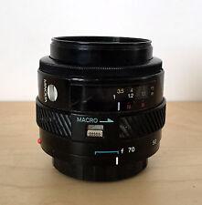 MINOLTA AF 35-70mm f4 Macro Wide Lens for Maxxum w/ Cross Screen