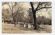 ARTILLERY PARADE, FORT RILEY: Kansas USA postcard (C11824)