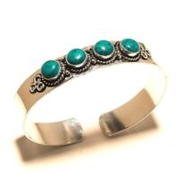 Turquoise Silver Plated Bangel Bracelet Cuff Jewelry