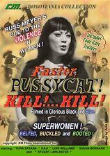 ~RUSS MEYER'S FASTER, PUSSYCAT! KILL!... KILL!  (DVD, R1) 1965 CLASSIC!  NEW~