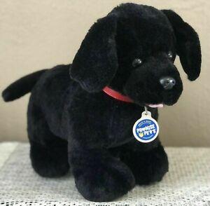 BUILD A BEAR PROMISE PETS BLACK LAB LABRADOR RETRIEVER PUPPY DOG BABW 2016 EUC!