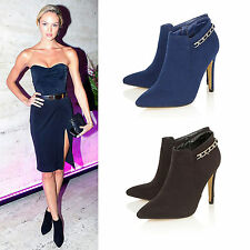 Ankle Boots Stiletto Standard (B) Formal Shoes for Women