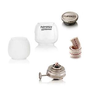 Petromax HL 1 Ersatzteile - Glas Brenner Docht Meterware Schraube Petroleumlampe