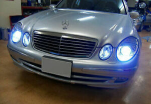 Mercedes E Class W211 2002-2006 D2S Xenon Hid 35W Bulbs Ice Blue 8000K Low Beam