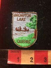 Vintage BROMTON LAKE QUEBEC Canada Patch 876