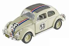1/18 HotWheels Volkswagen Beetle # 53 Herbie Goes to Monte Carlo Diecast BLY22