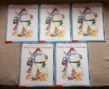 Lot of 5 ALL YOU NEED FOR A SNOWMAN Picture Books SCHERTLE Guided Reading WINTER