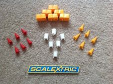 SCALEXTRIC - TRACKSIDE CONES, HAYBALES & OIL DRUMS  -  A205