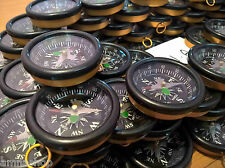 Lot Of 25 Pcs Compass For All Directions 45mm Collectible Scientific Instrument