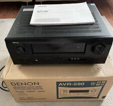 DENON AV Surround Receiver AVR-590 Original Box/Manual Super Clean - Nice!
