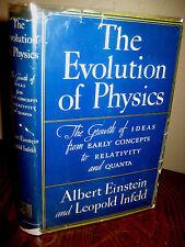 1st Edition Evolution of Physics Albert Einstein Leoplold Infeld Later Printing
