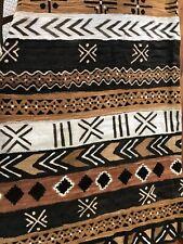 African mud cloth Fabric/throw