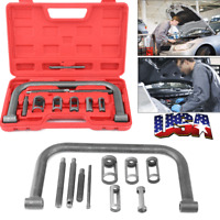 Valve Spring Compressor Kit Removal Installer Tool For Car Motorcycle Engines U