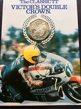 More details for 1981 isle of man double crown tt races diamond finish 50p