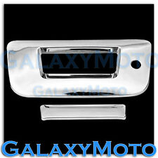 07-13 Chevy Silverado 1500+2500+3500+HD Chrome Tailgate+Keyhole Handle Cover