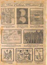Cigognes d'Alsace de Hansi /Poilus Charge la Baïonnette Bataille Verdun WWI 1915
