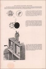 MAKING MOVING PICTURES, 2 PG ARTICLE with diagrams,  pub. 1899