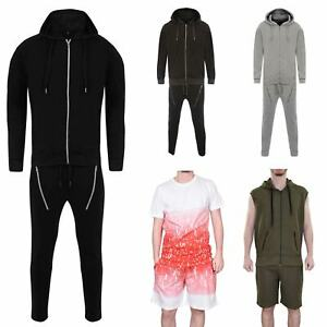 Mens Tracksuit Full Set Qualited Sweatshirt Multi Styles And Colours