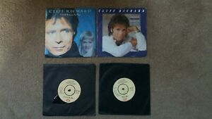 """Cliff Richard - 4 x 7"""" Singles - A Little In Love, Never Say Die + 2 others"""